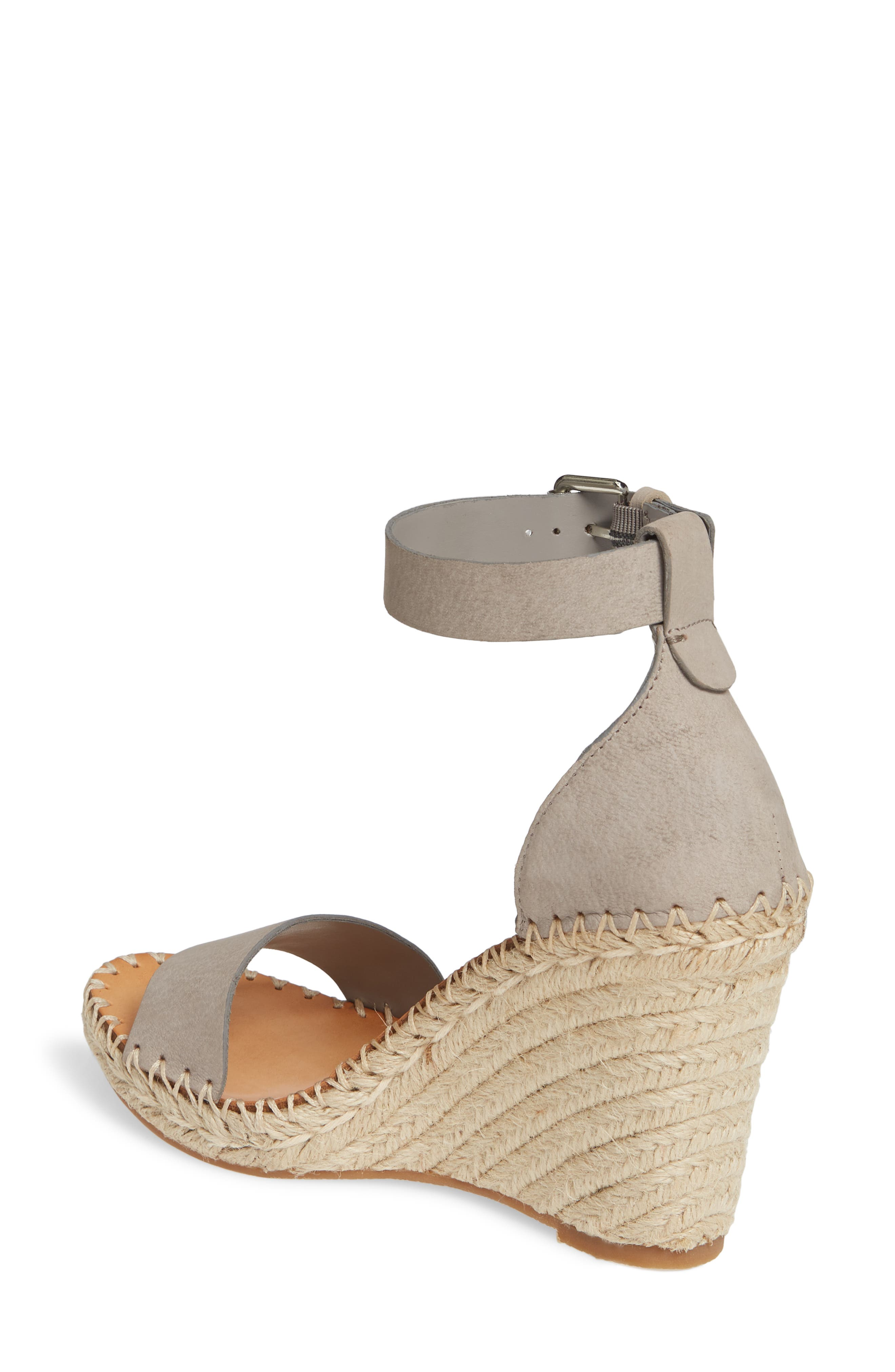 ,                             Noor Espadrille Wedge Sandal,                             Alternate thumbnail 2, color,                             020