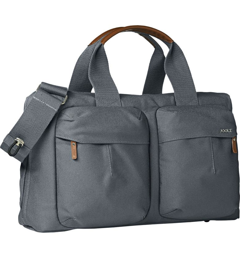 JOOLZ Earth Diaper Bag, Main, color, HIPPO GREY