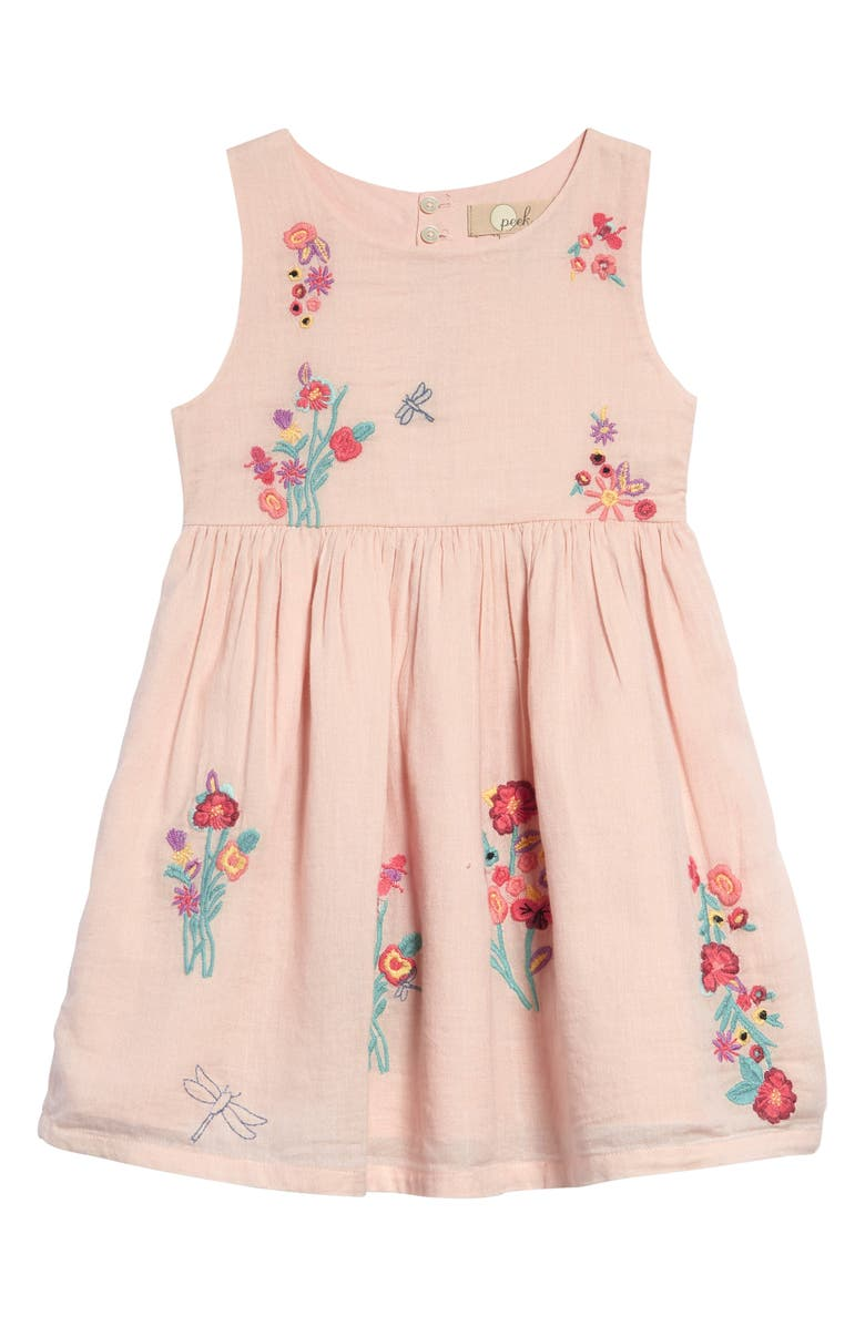 PEEK AREN'T YOU CURIOUS Isabelle Dress, Main, color, LIGHT PINK