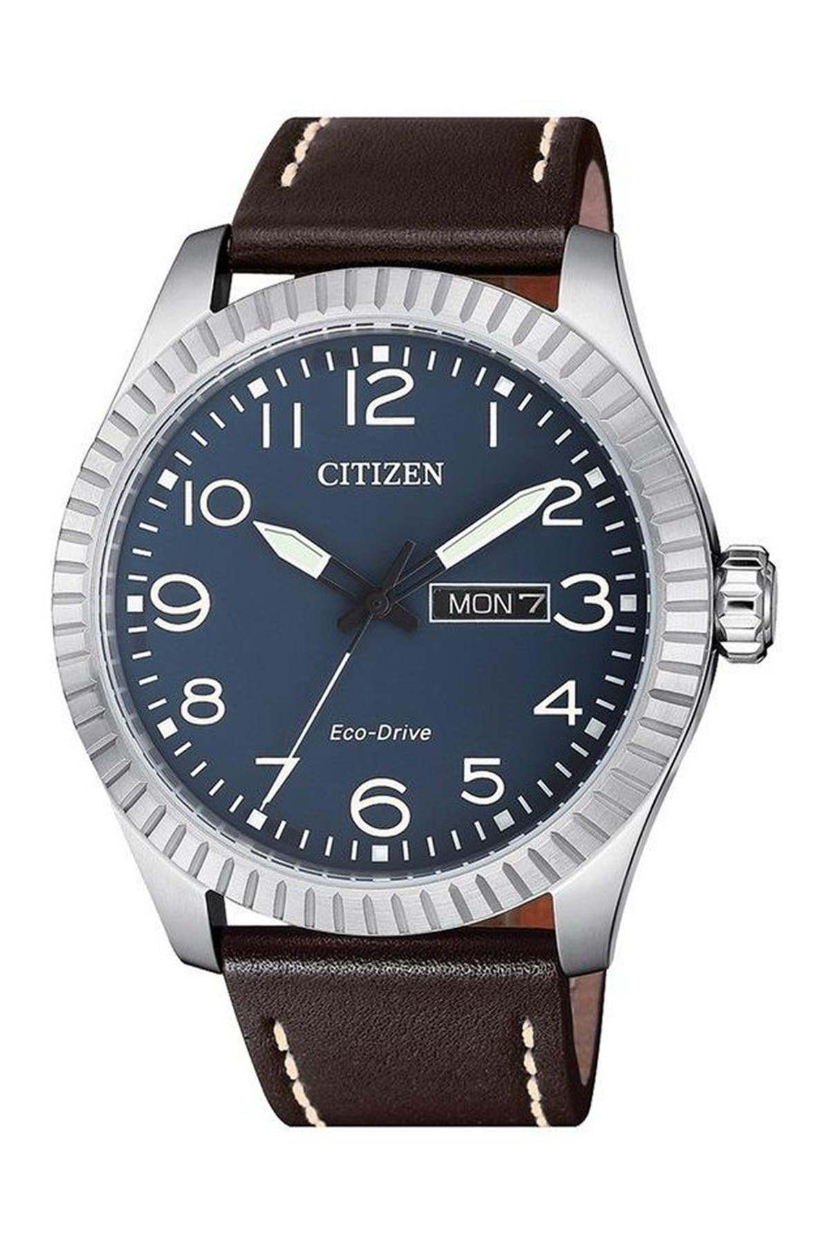 Image of Citizen Promaster Nighthawk Eco-Drive Blue Dial Watch, 42mm
