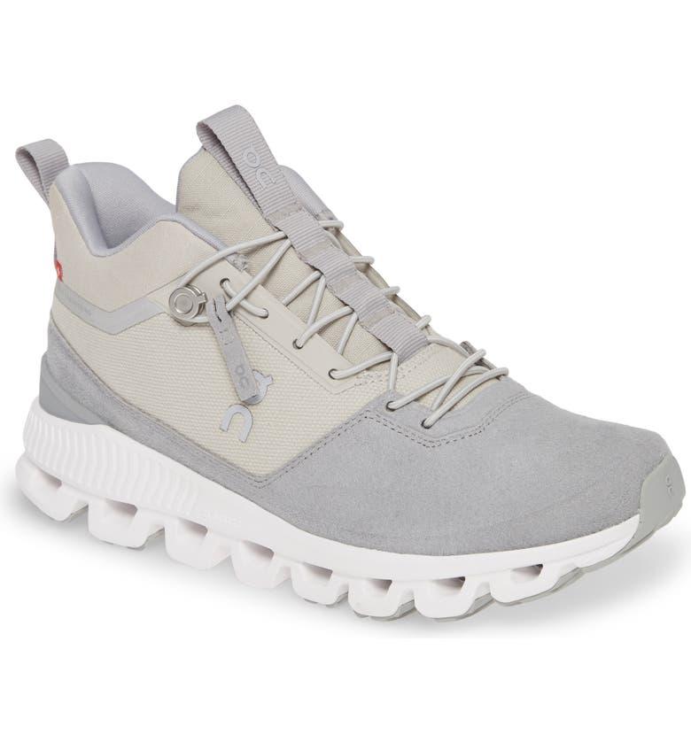 ON Cloud High Walking Sneaker, Main, color, GLACIER/ GREY