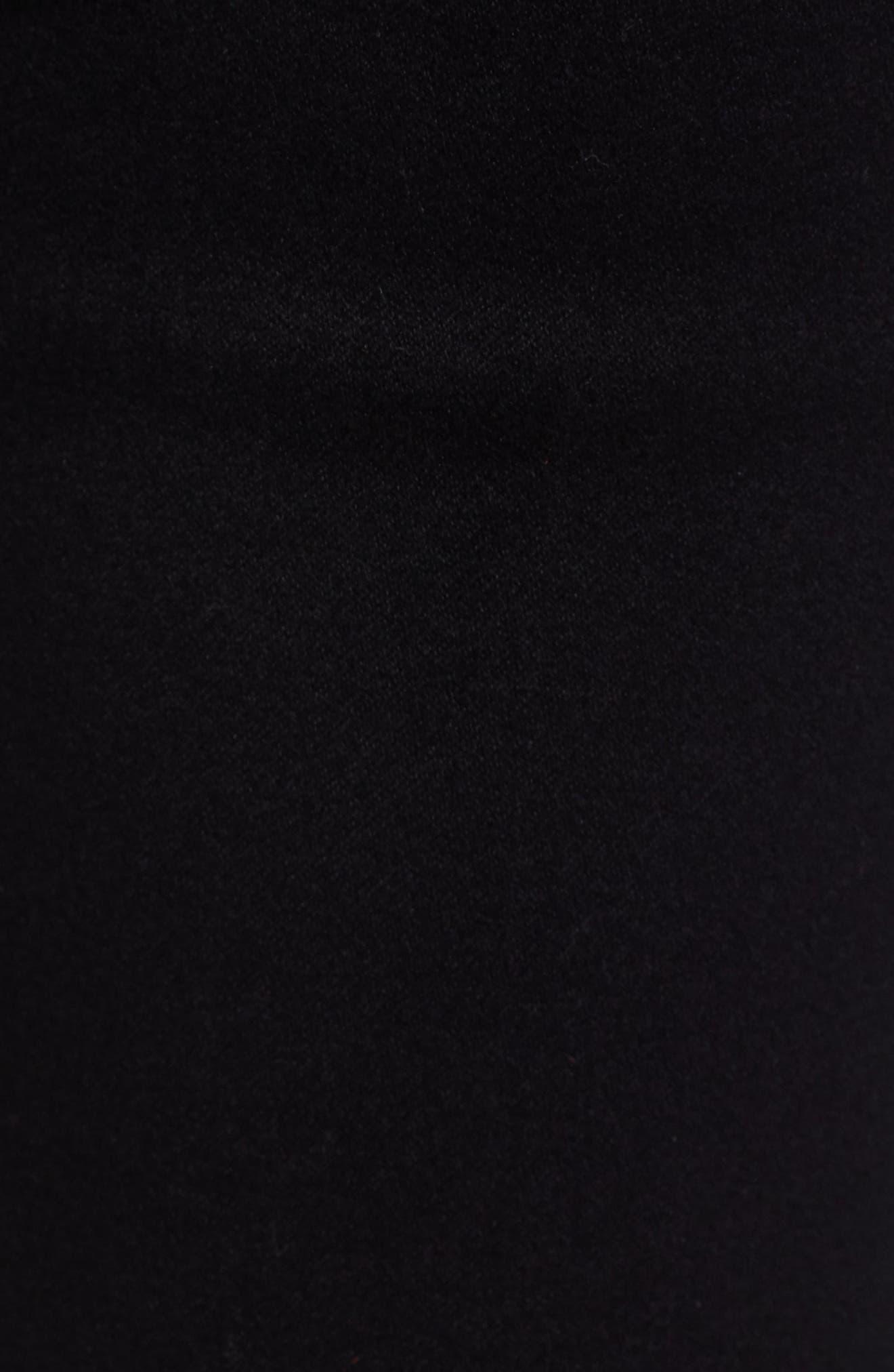 ,                             Butter High Waist Skinny Jeans,                             Alternate thumbnail 6, color,                             BLACK