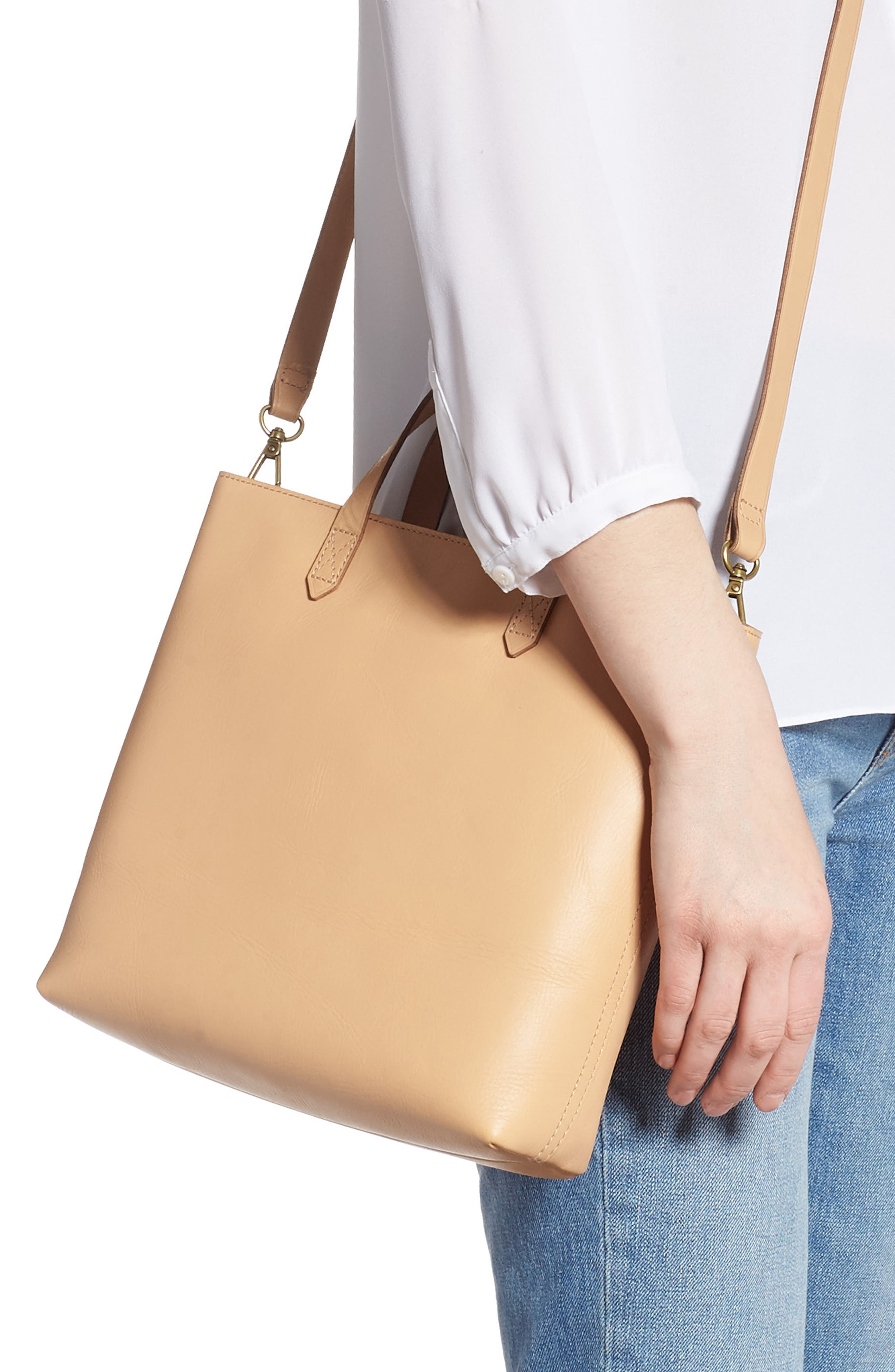 ,                             Small Transport Leather Crossbody Tote,                             Alternate thumbnail 33, color,                             250