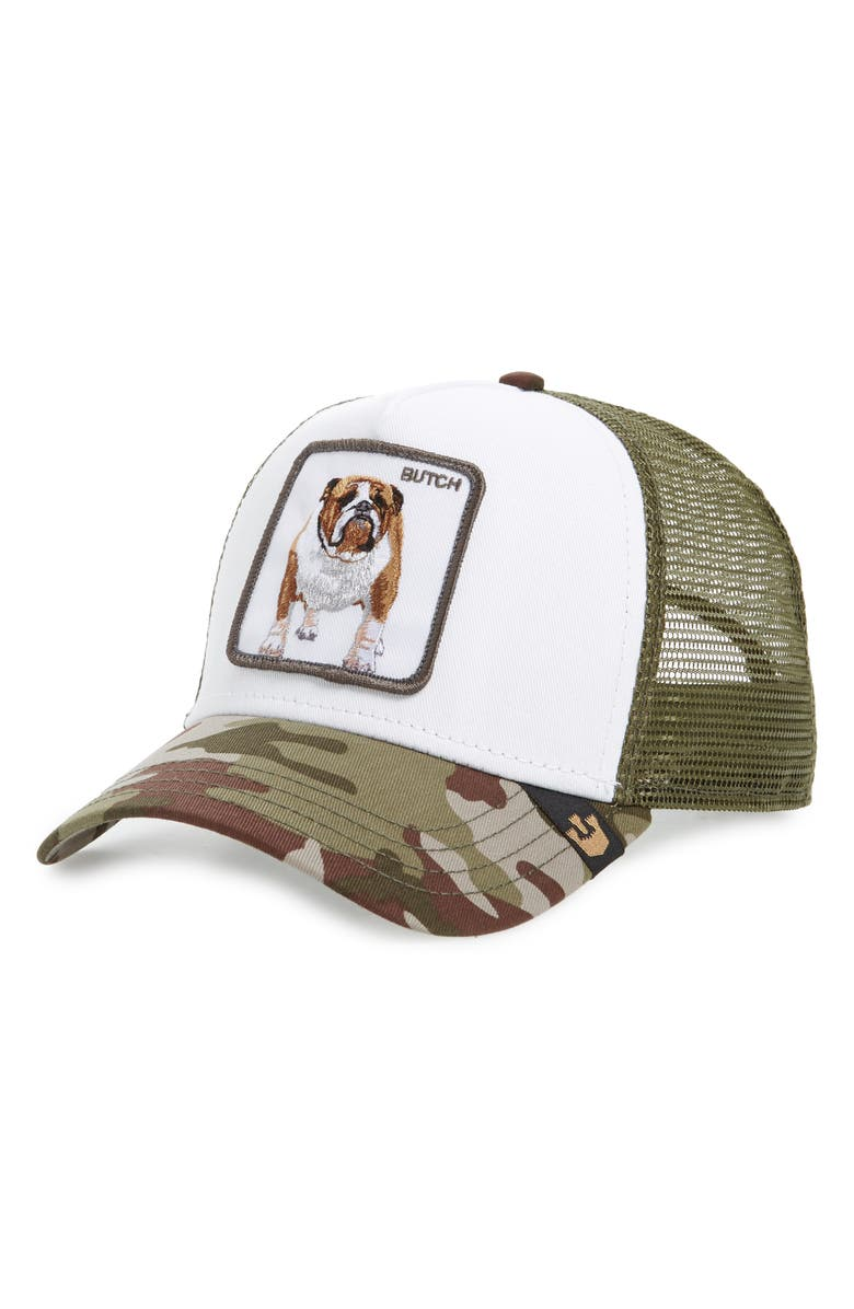 GOORIN BROS. Butch Trucker Cap, Main, color, CAMOUFLAGE