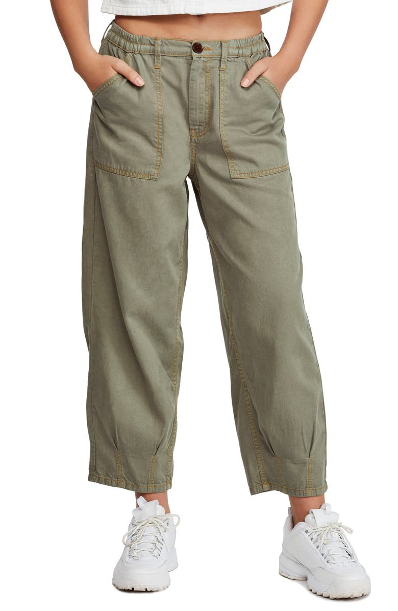 BDG Urban Outfitters Luca Utility Pants, Main, color, ARMY