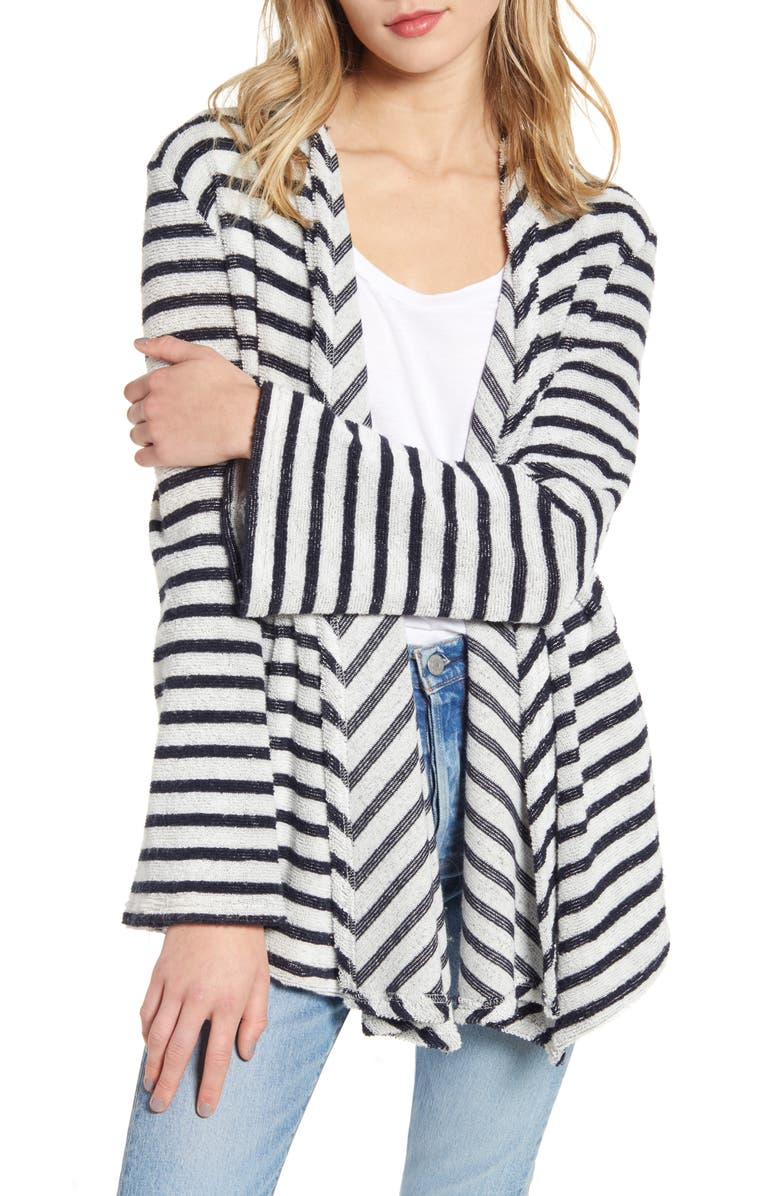BB DAKOTA Just Your Stripe French Terry Jacket, Main, color, 410