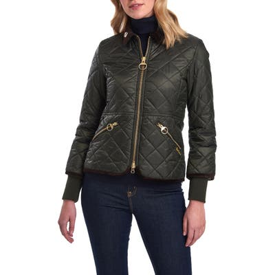 Barbour Icons Liddesdale Quilted Jacket, US / 8 UK - Green