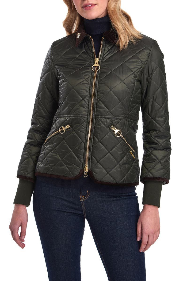 BARBOUR Icons Liddesdale Quilted Jacket, Main, color, 302
