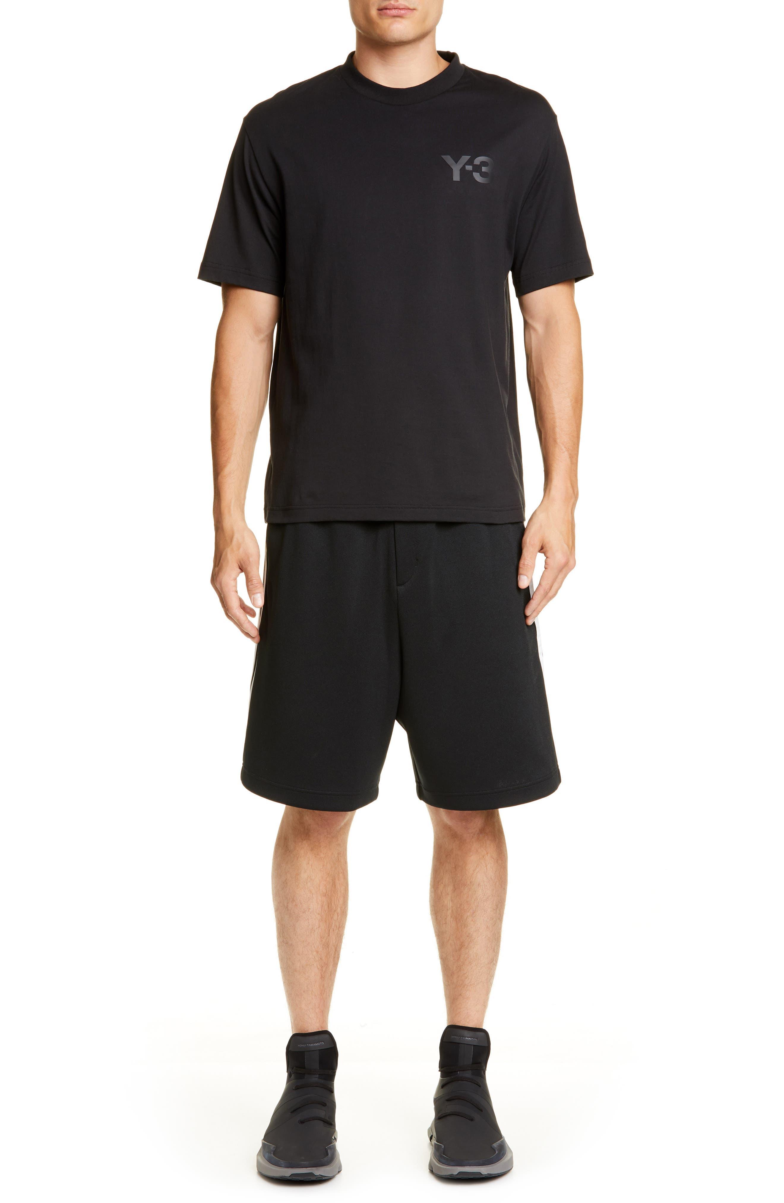 ,                             Stripe Shorts,                             Alternate thumbnail 7, color,                             BLACK