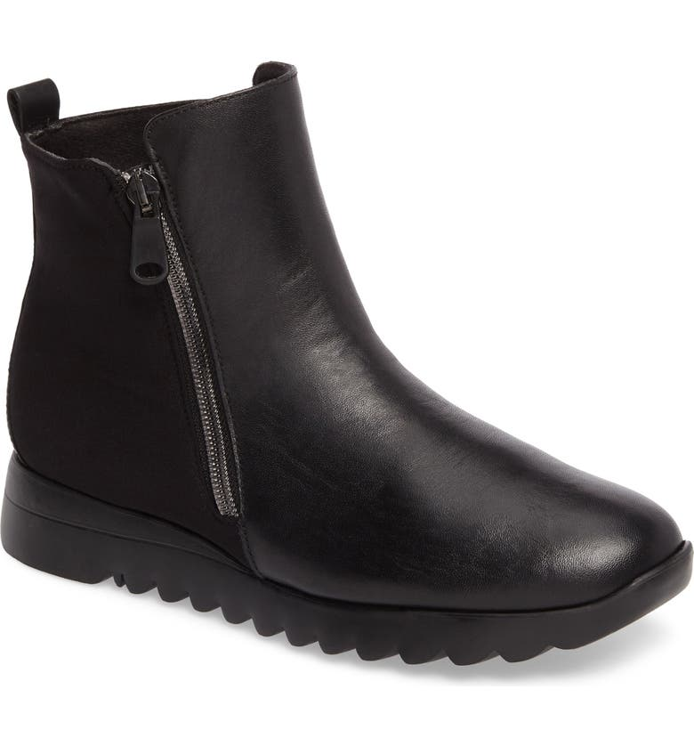 MUNRO Ashcroft Bootie, Main, color, BLACK LEATHER