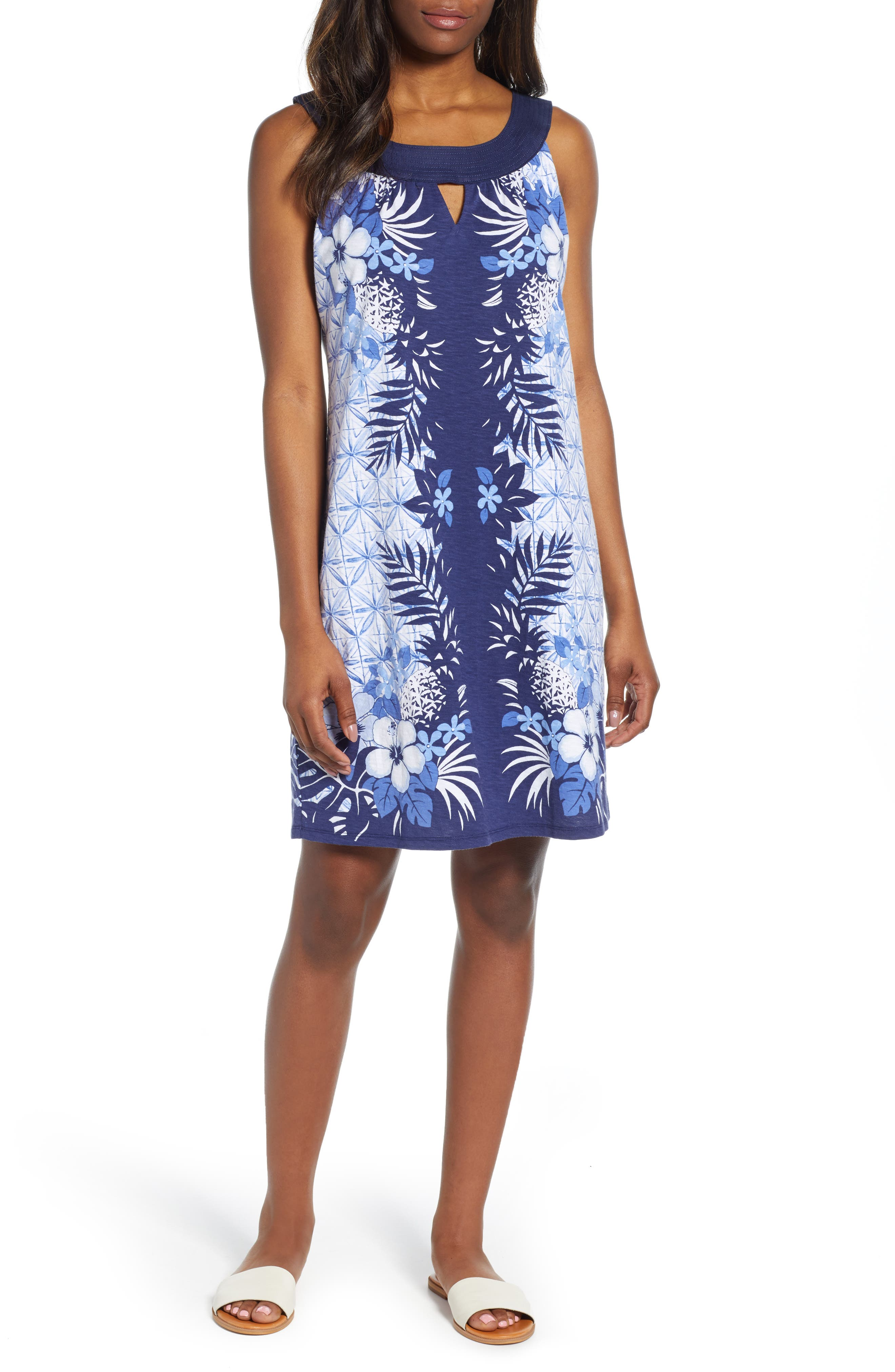 Tommy Bahama Estrella Azzurra Shift Dress, Blue