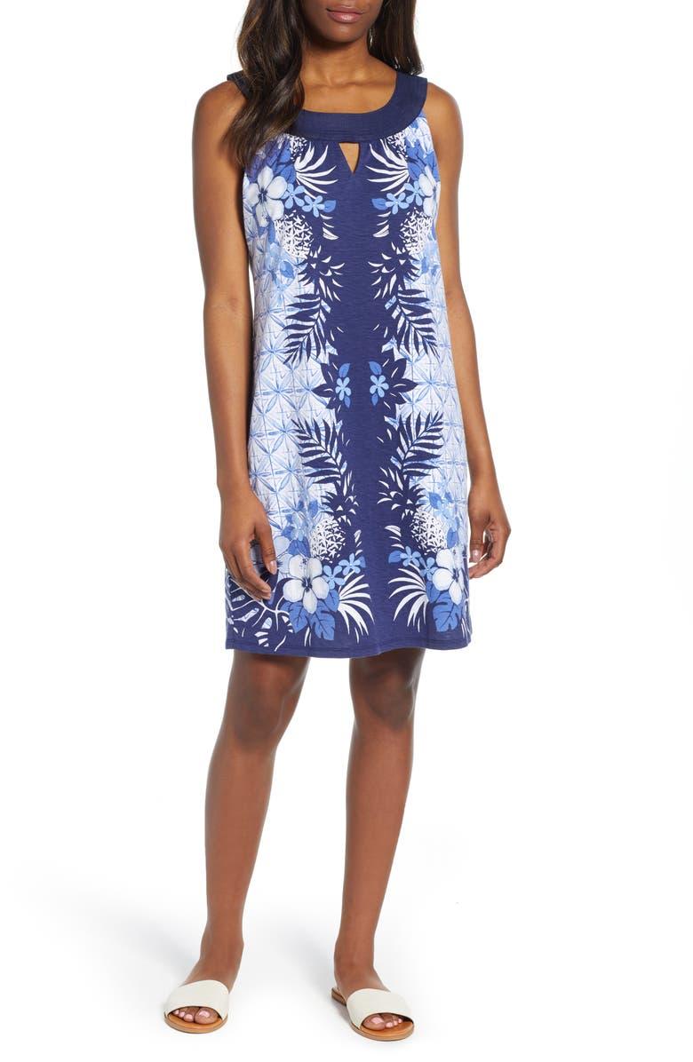 TOMMY BAHAMA Estrella Azzurra Shift Dress, Main, color, 401