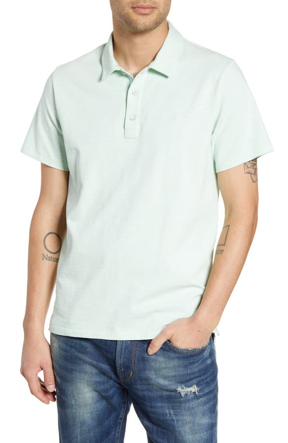 Rag & Bone Tops CLASSIC FIT SLUB JERSEY POLO