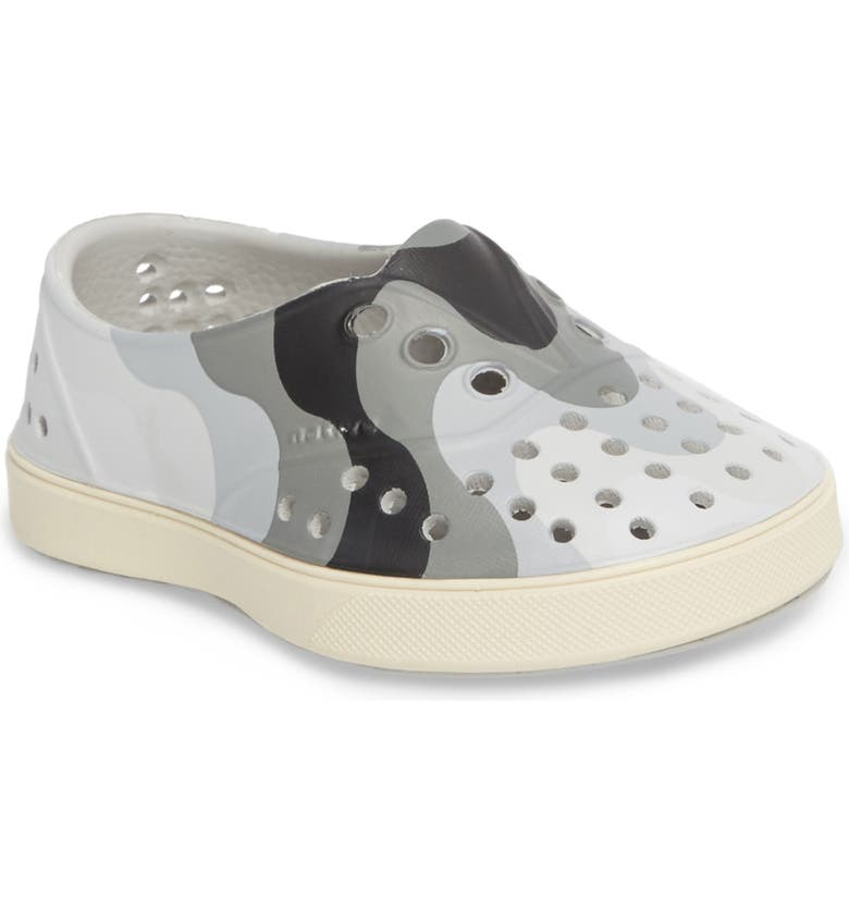 NATIVE SHOES 'Miller' Water Friendly Perforated Sneaker, Main, color, 022