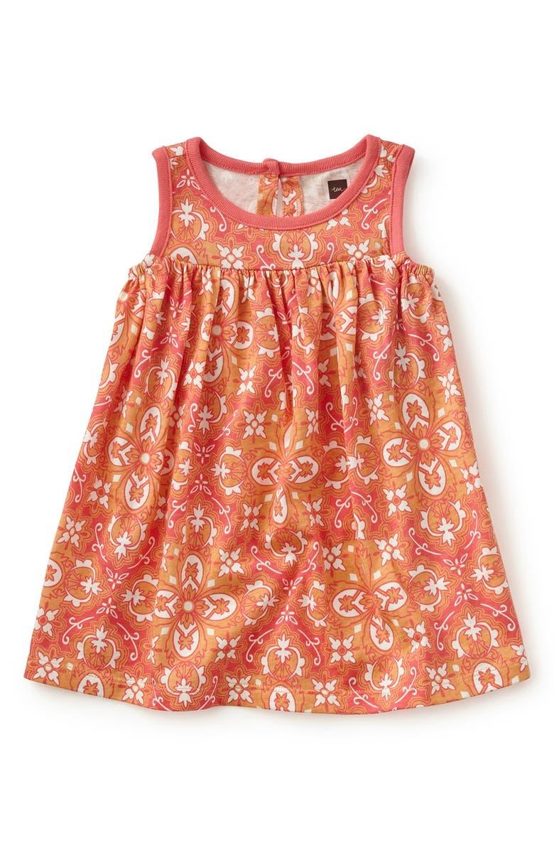 Tea Collection Eleonora Floral Print Sleeveless Dress