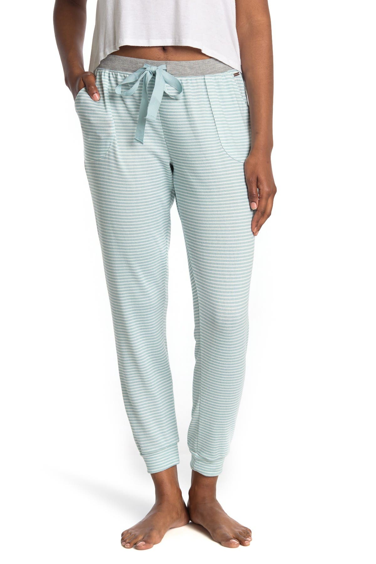 Image of Tahari Pocket Pajama Joggers