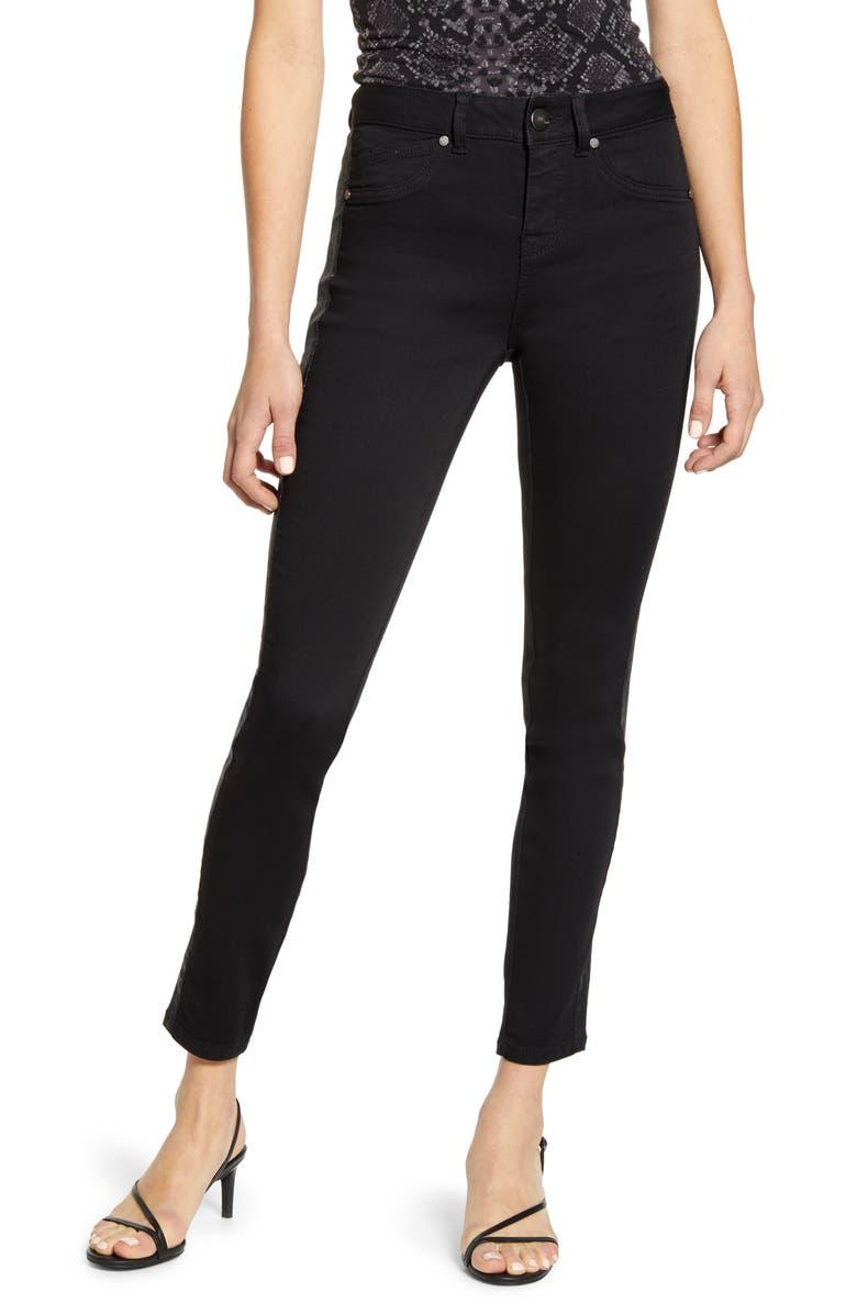 1822 DENIM Stripe Ankle Skinny Jeans, Main, color, STARRY