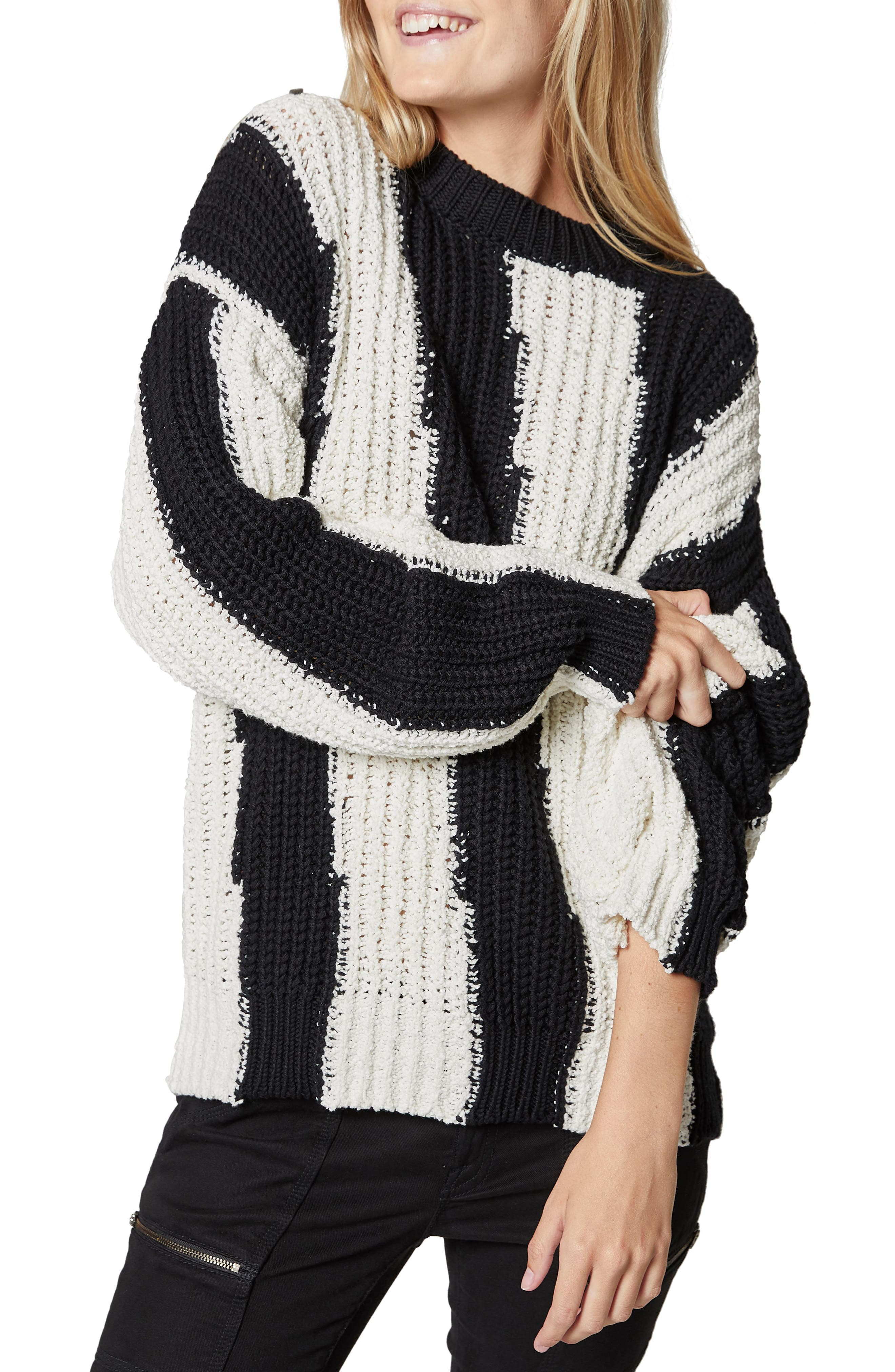 Chadsey Colorblock Cotton Blend Sweater