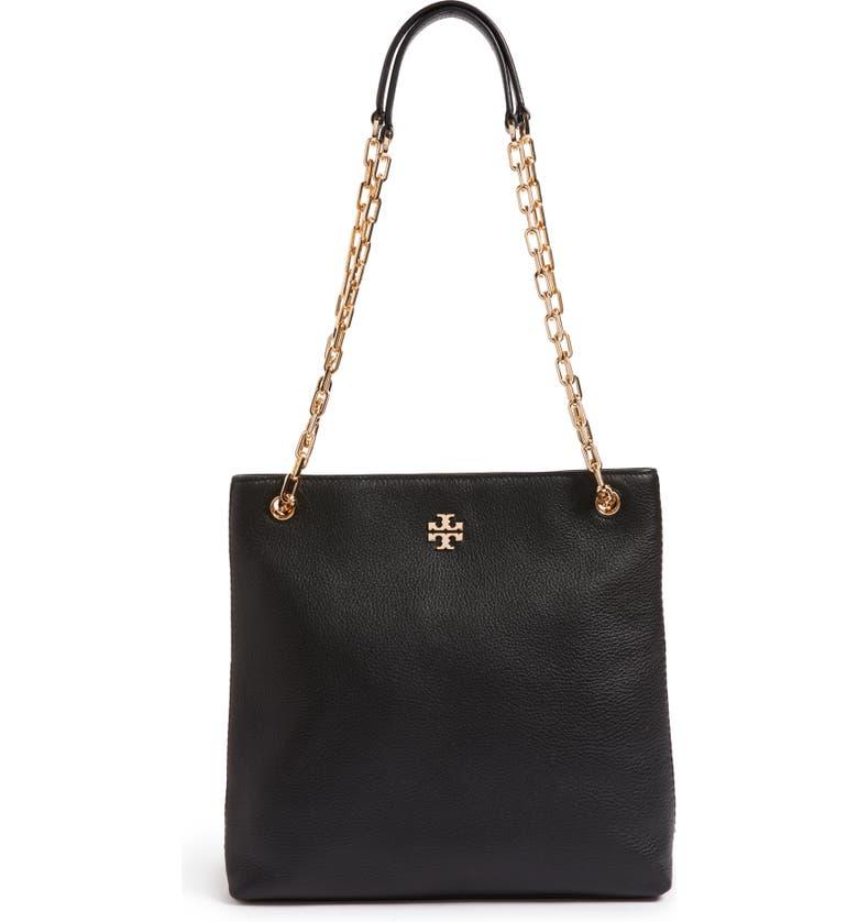 TORY BURCH Frida Swingpack Leather Crossbody Bag, Main, color, 001