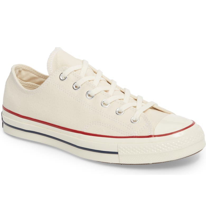 CONVERSE Chuck Taylor<sup>®</sup> All Star<sup>®</sup> 70 Low Top Sneaker, Main, color, PARCHMENT