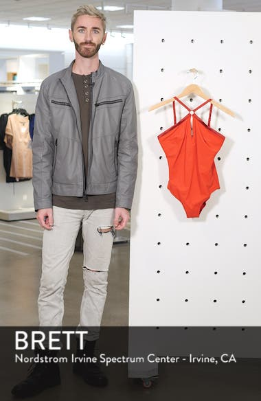 Tuxedo One-Piece Swimsuit, sales video thumbnail