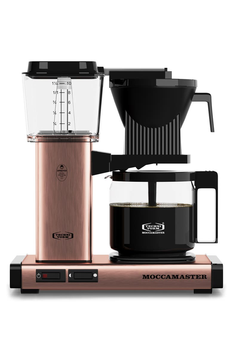 MOCCAMASTER KBG Coffee Brewer, Main, color, COPPER