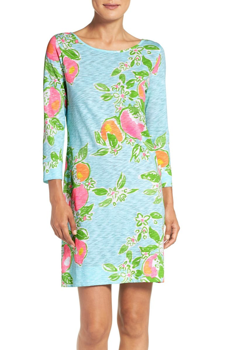 LILLY PULITZER<SUP>®</SUP> 'Marlowe' Print Shift Dress, Main, color, 449