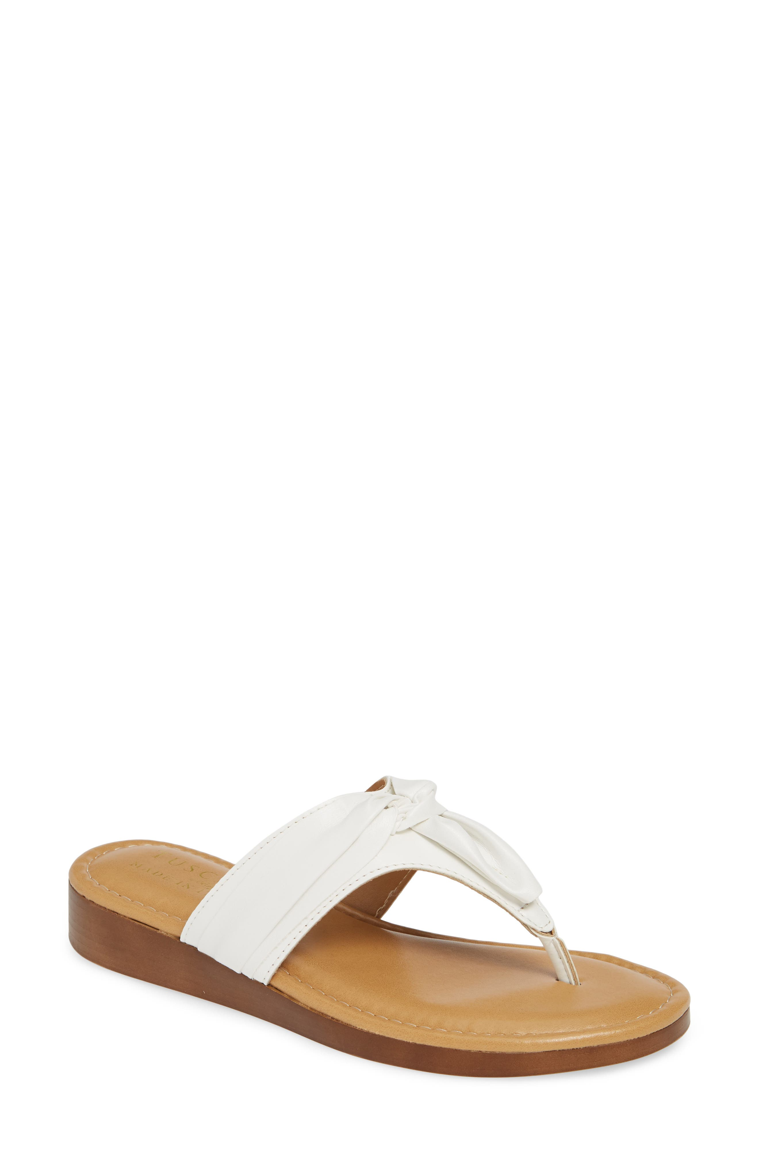 Tuscany By Easy Street Maren Flip Flop, White