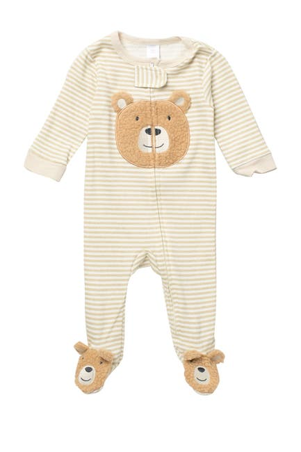 Image of Baby Kiss Bear Footie