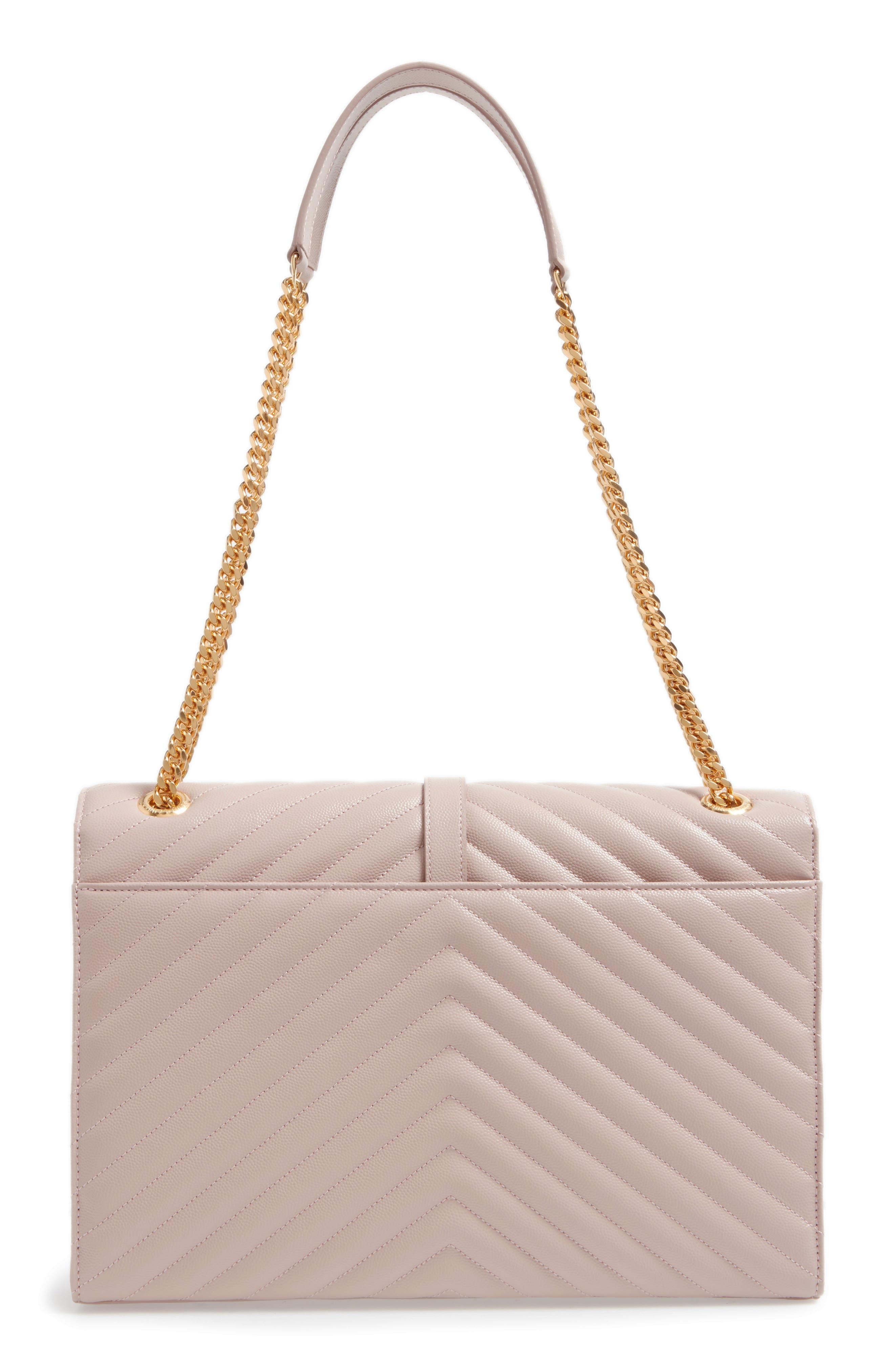 ,                             'Large Monogram' Grained Leather Shoulder Bag,                             Alternate thumbnail 43, color,                             657