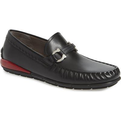 Salvatore Ferragamo Tasby Driving Shoe M/W - Black