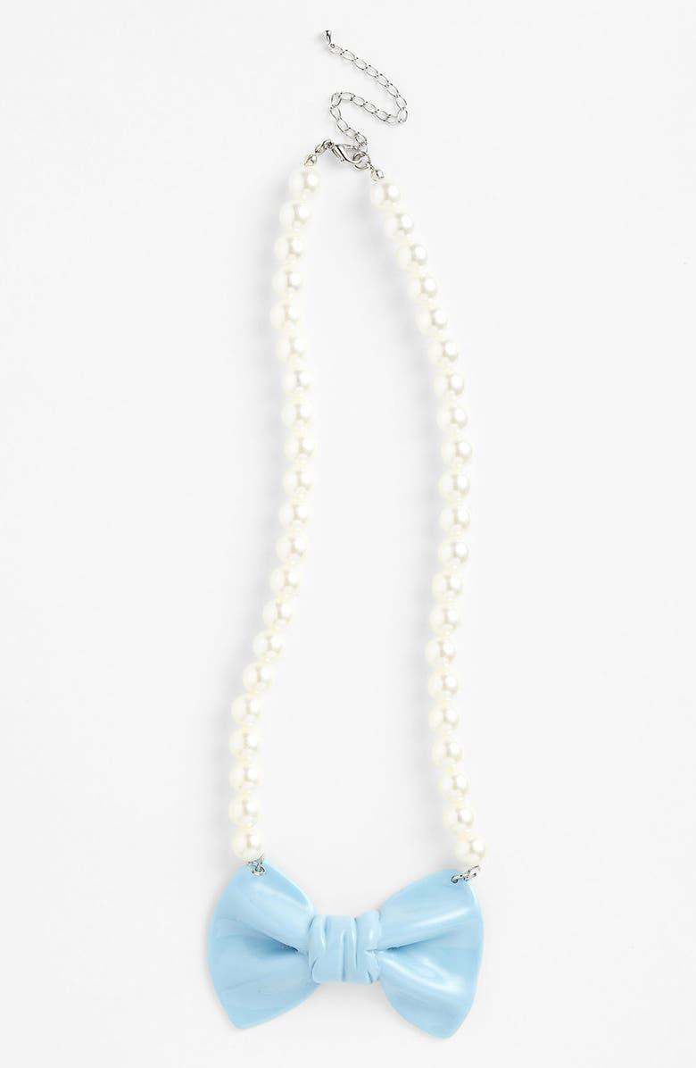 ADIA KIBUR Bow Necklace, Main, color, 400
