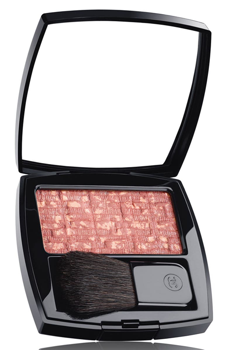 CHANEL LES TISSAGES DE CHANEL <br />Blush Duo Tweed Effect, Main, color, 000