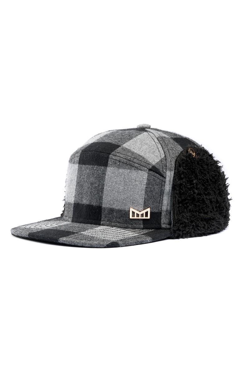 MELIN Lumberjack Snapback Cap, Main, color, 002
