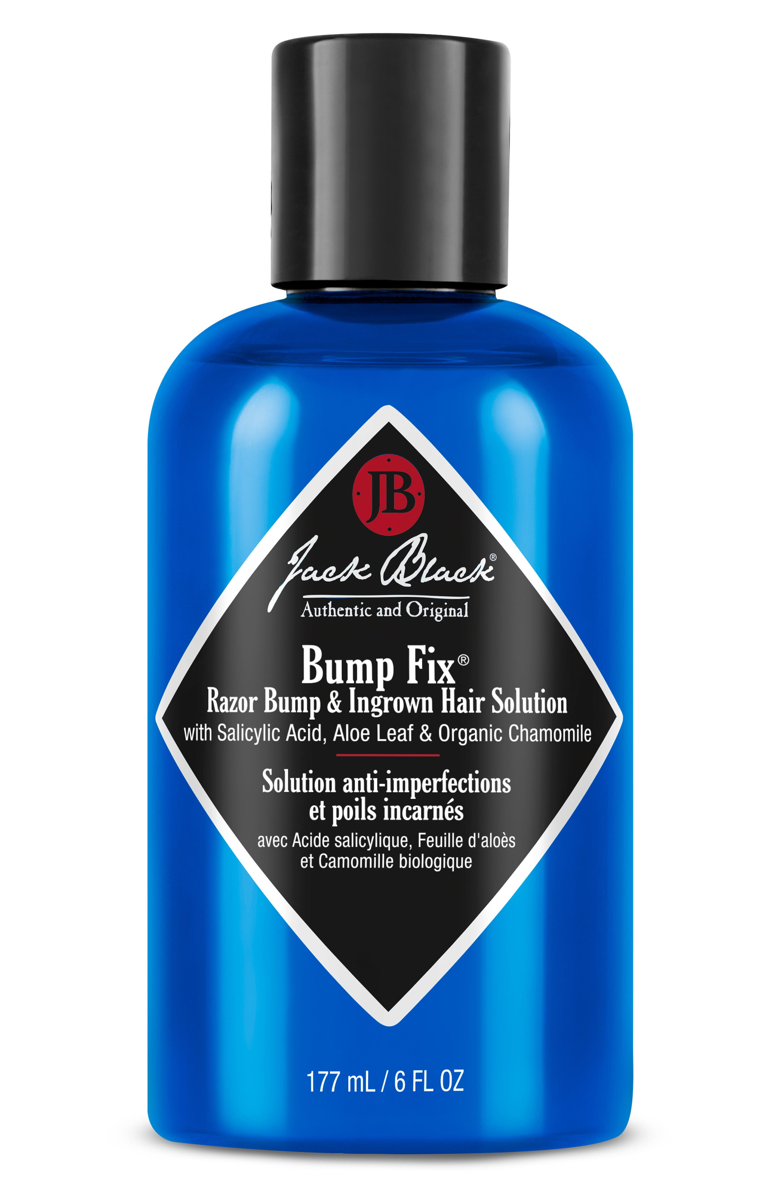 This go-to solution by Jack Black reduces razor bumps and ingrown hairs, and helps prevent new ones from forming. Its powerful combination of 2% salicylic acid and lactic acid exfoliate the top layer of dead skin cells, unearthing the skin-trapped facial hairs that can cause razor bumps and dissolving the pore-clogging facial oils that can cause acne or blackheads. It also contains effective hydrating and soothing ingredients to effectively
