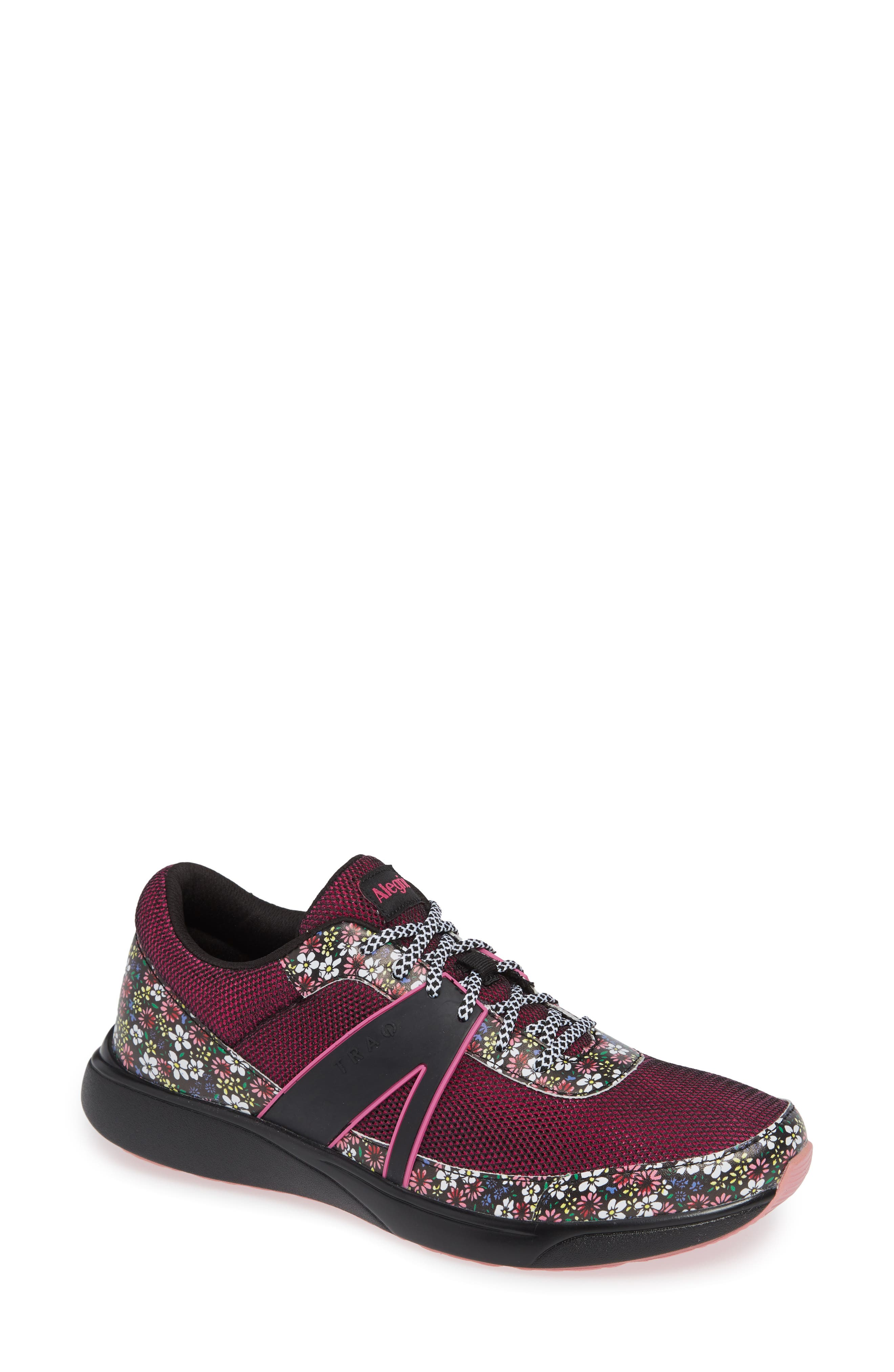 Alegria Qarma Sneaker, Burgundy