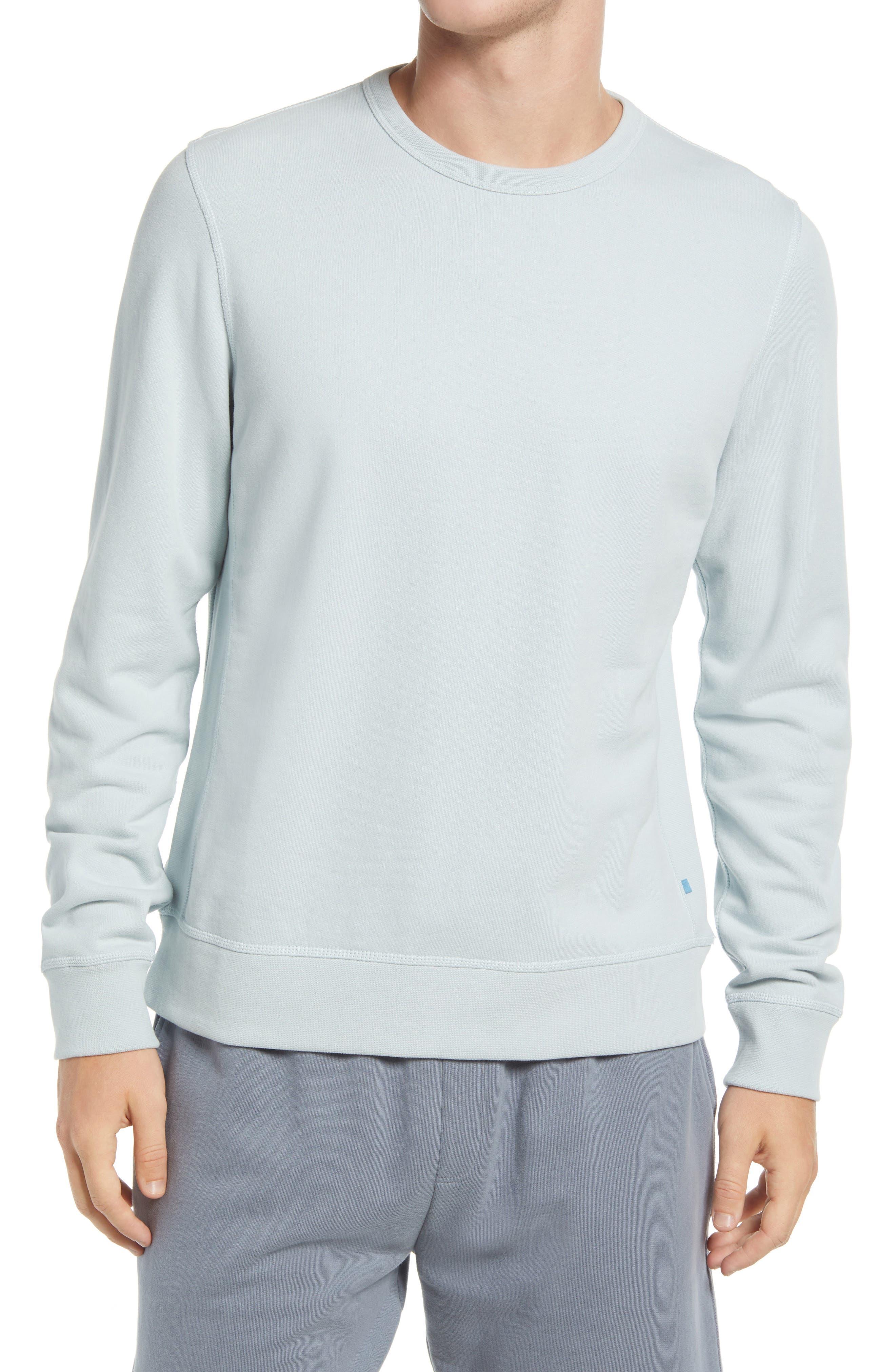 Maddux Crewneck Pima Cotton Sweatshirt