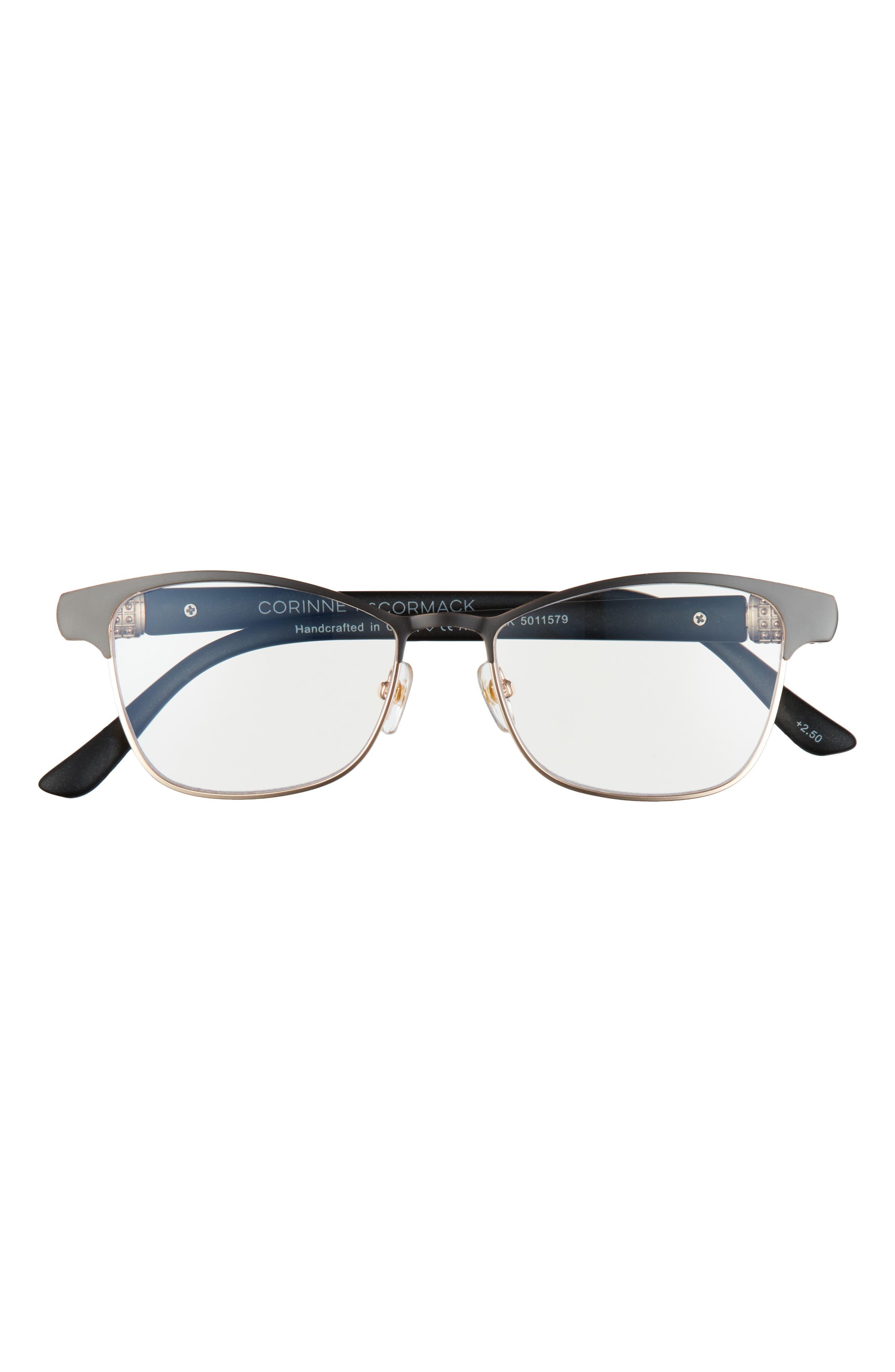 Attina 50mm Blue Light Blocking Reading Glasses
