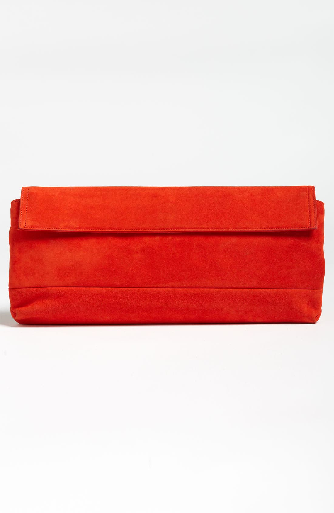 ,                             Leather Clutch,                             Alternate thumbnail 4, color,                             600
