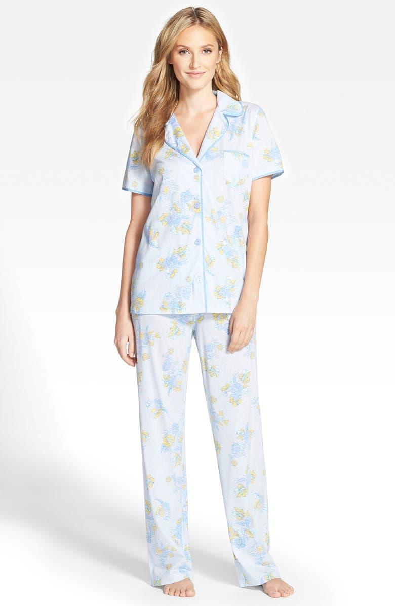 CAROLE HOCHMAN Designs Cotton Pajamas, Main, color, 473