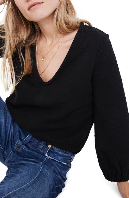 Image of Madewell Texture & Thread Full Sleeve Top