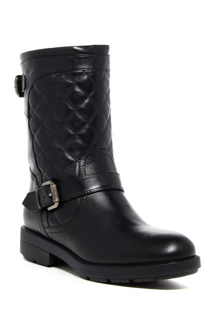 Image of Aquatalia Lynn Quilted Moto Boot