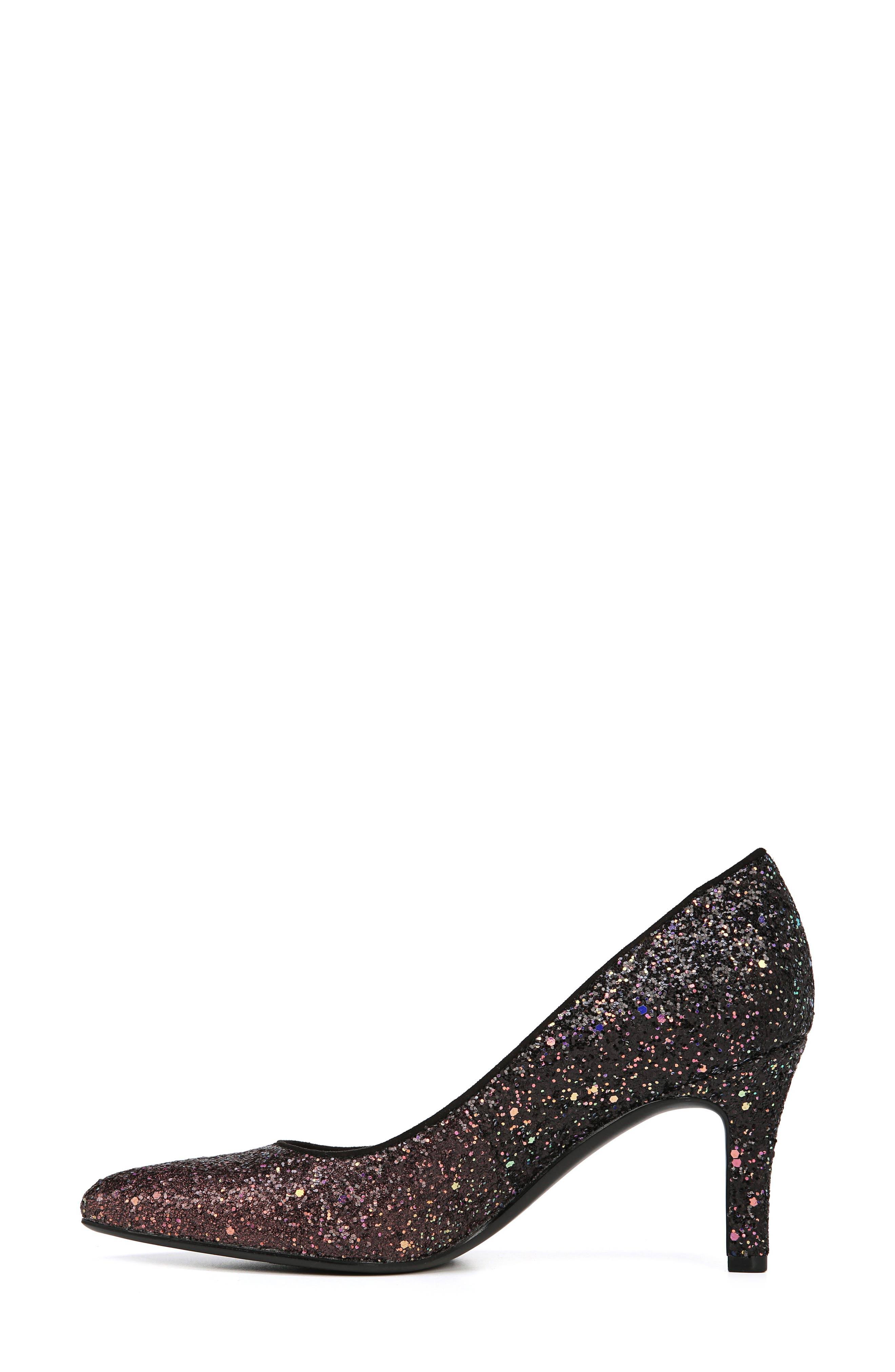 ,                             Natalie Pointy Toe Pump,                             Alternate thumbnail 6, color,                             MULTI GLITTER FABRIC