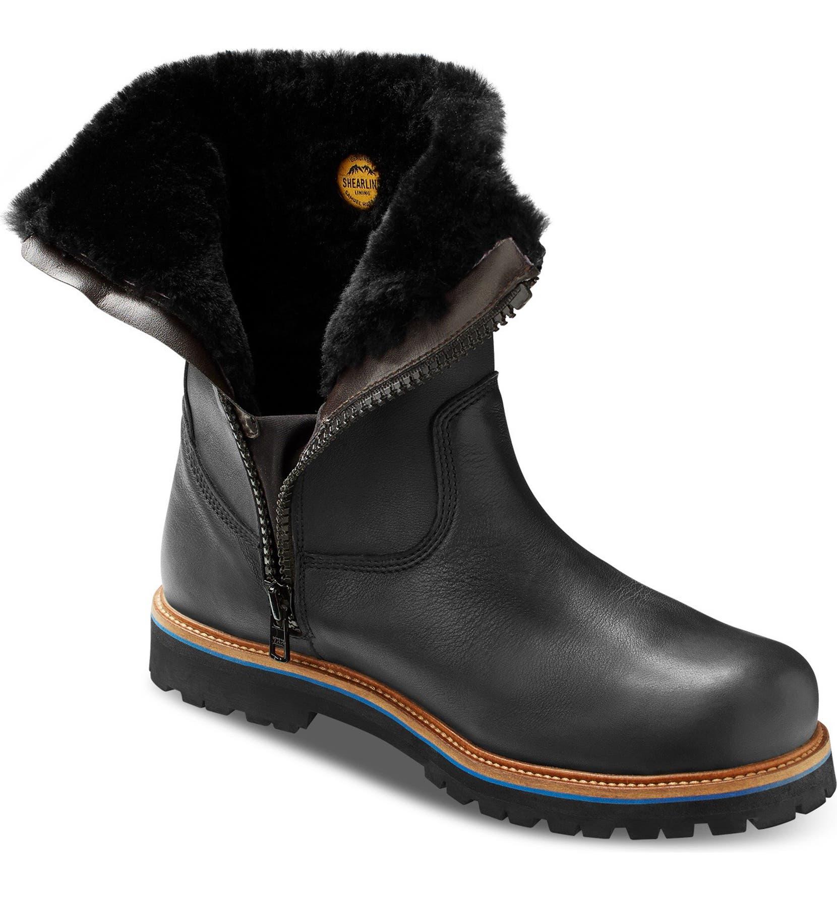 0f461e7a5e7 Snow Lodge Waterproof Gore-Tex® Genuine Shearling Lined Boot