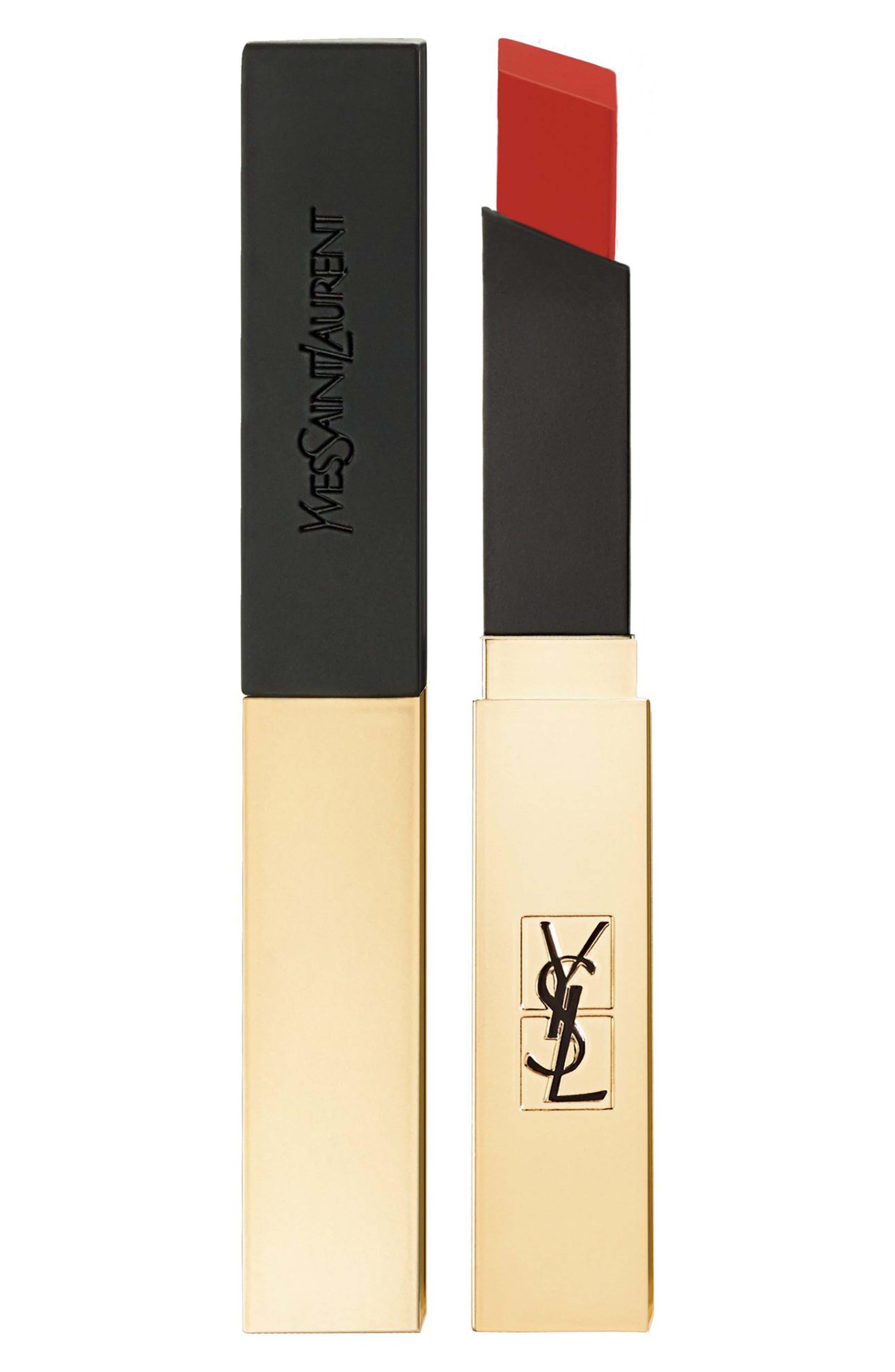 Yves Saint Laurent Rouge Pur Couture The Slim Matte Lipstick - 10 Corail Antinomique