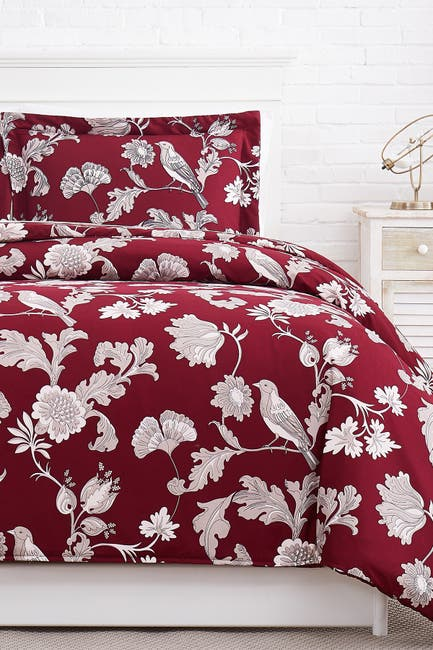 Image of SOUTHSHORE FINE LINENS Premium Collection Oversized Duvet Cover 3-Piece Set - Full/Queen