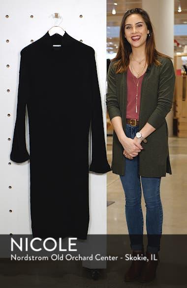 Rib Midi Sweater Dress, sales video thumbnail