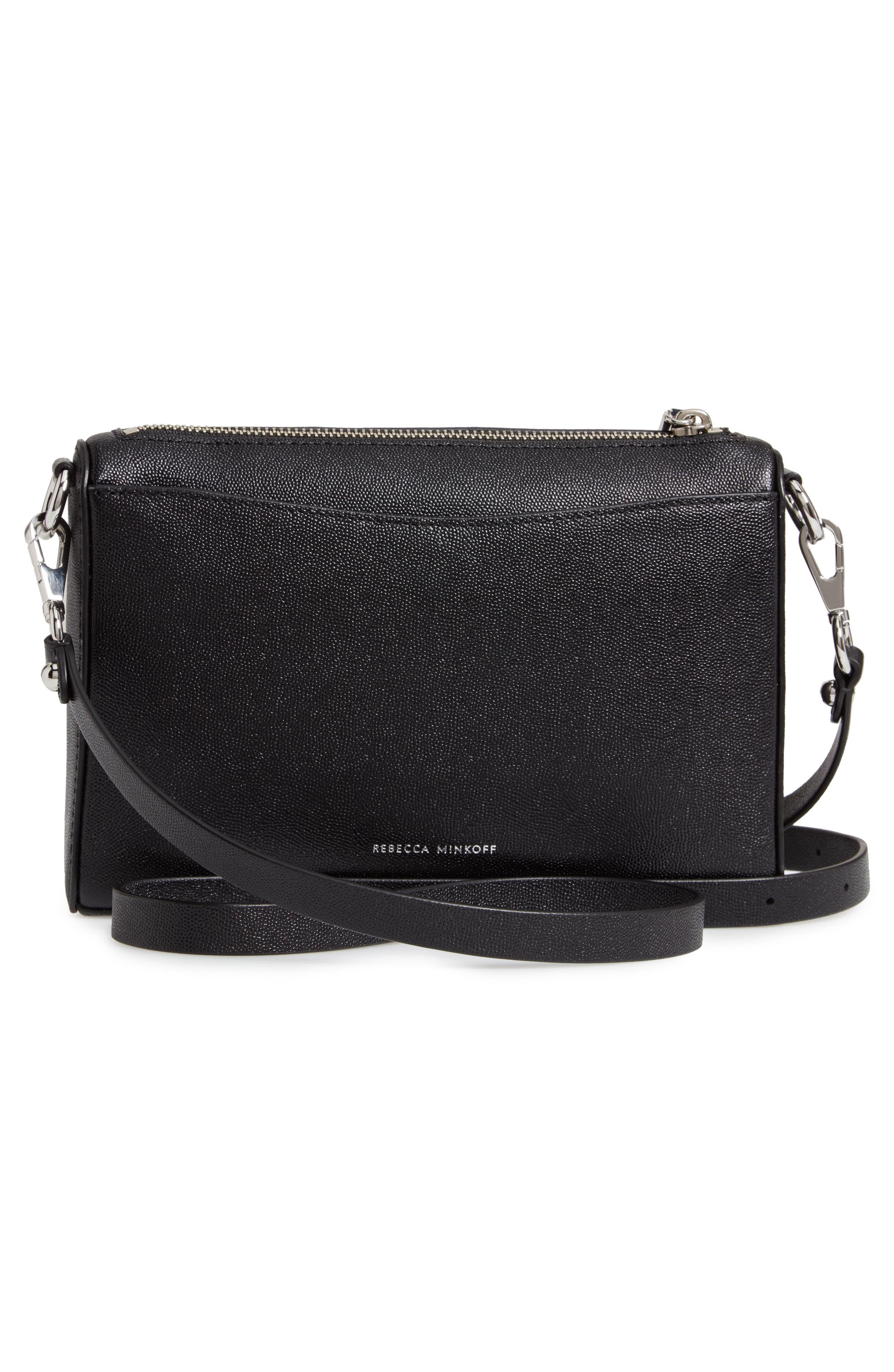 ,                             Jean MAC Convertible Crossbody Bag,                             Alternate thumbnail 4, color,                             BLACK