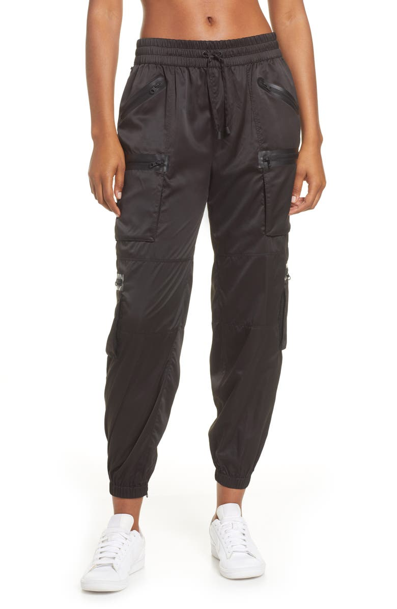 BLANC NOIR Airborne Cargo Jogger Pants, Main, color, BLACK/ BLACK