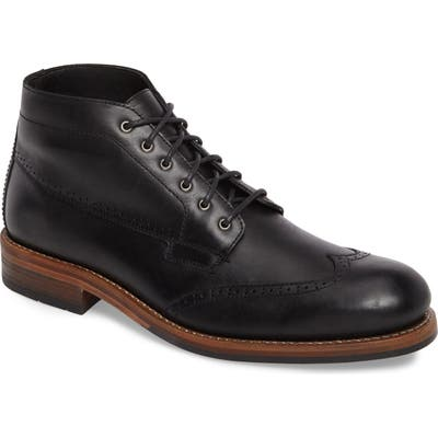 Wolverine Harwell Wingtip Boot, Black